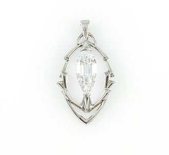 Crater of Diamonds State Park - Esperanza Triolette Pendant by Mike Botha and Ian Douglas, The Inspired Collection
