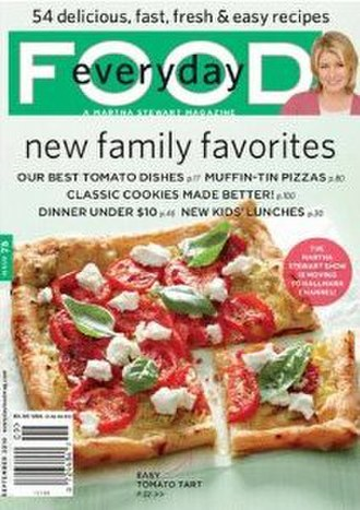 Everyday Food - Image: Everyday Food (magazine) cover
