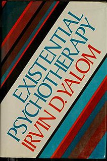 <i>Existential Psychotherapy</i> (book) book by Irvin D. Yalom