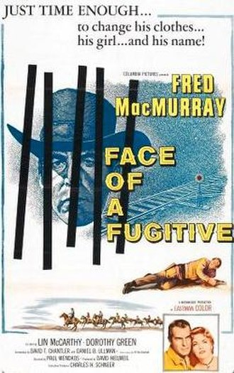 Face of a Fugitive - original film poster