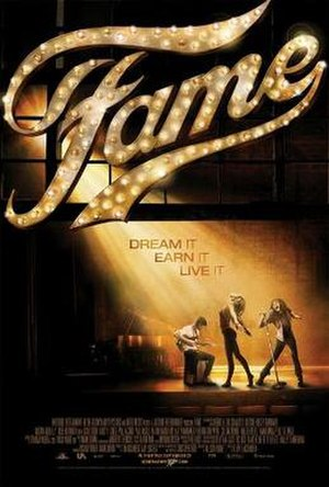 Fame (2009 film) - Theatrical release poster