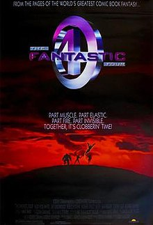 Image result for fantastic four 1994 poster