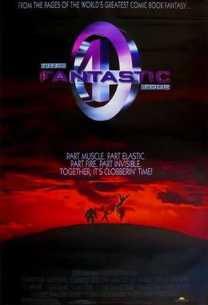 The Fantastic Four (unreleased film) - Film poster