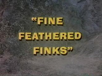 Fine Feathered Finks - Image: Fine Feathered Finks