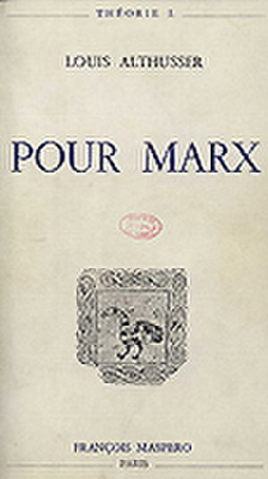 For Marx - Cover of the first edition