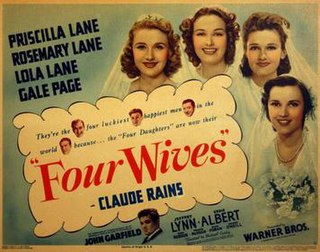 <i>Four Wives</i> 1939 film by Michael Curtiz