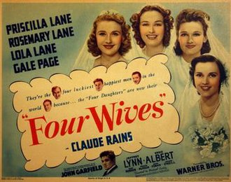 Four Wives - Movie poster