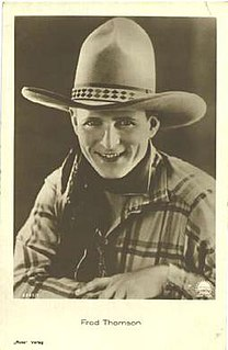 Fred Thomson American actor