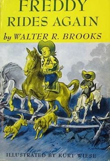 <i>Freddy Rides Again</i> book by Walter R. Brooks