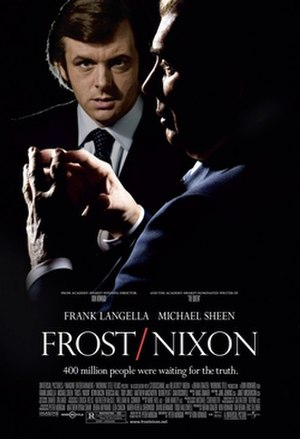 Frost/Nixon (film) - Theatrical release poster