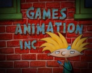 Nickelodeon Animation Studio - Games Animation logo used on early episodes of Hey Arnold!.