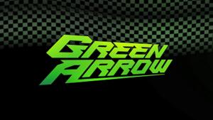 DC Showcase: Green Arrow - Green Arrow title banner