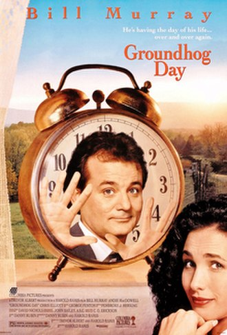 Groundhog Day (film) - Theatrical release poster
