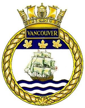 HMCS Vancouver (FFH 331) - Image: HMCS Vancouver crest