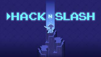 Hack 'n' Slash - Game logo