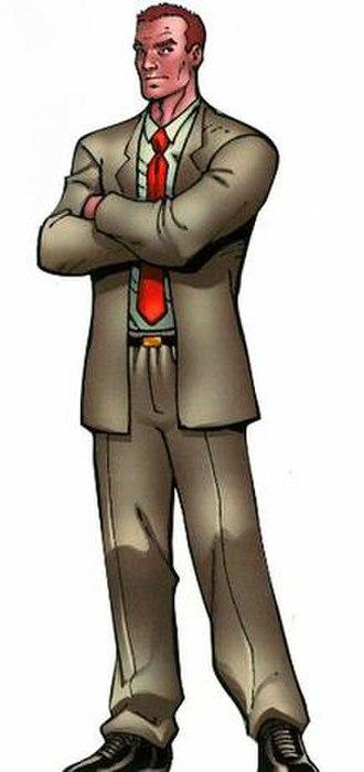 Happy Hogan (comics) - Happy Hogan  Art by Ron Lim  From All-New Iron Manual, 2008