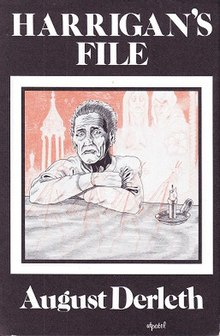 <i>Harrigans File</i> book by August Derleth