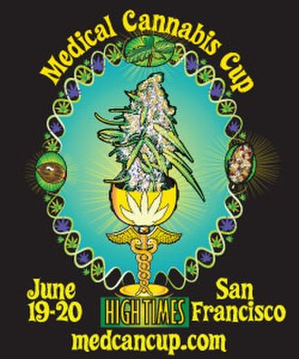 High Times Medical Cannabis Cup - Poster art for the 1st Annual High Times Medical Cannabis Cup, 2010