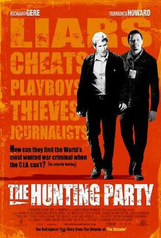 The Hunting Party (2007 film) - Promotional poster