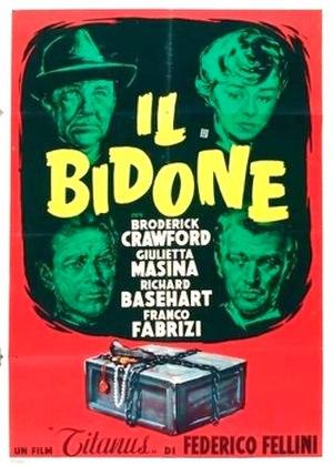 Il bidone - Theatrical release poster