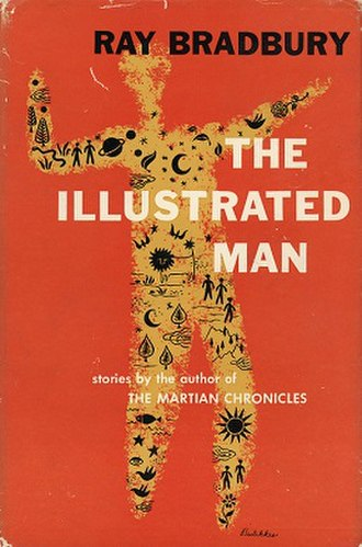 The Illustrated Man - Dust-jacket from the first edition