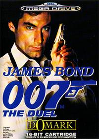 James Bond 007: The Duel cover art (European Sega Mega Drive version)
