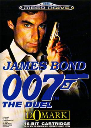 James Bond 007: The Duel - European Mega Drive cover art