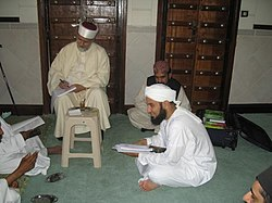 Habib Ali Jifri receiving Ijaza