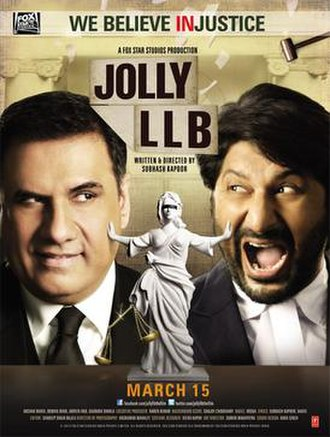 Jolly LLB - Theatrical release poster
