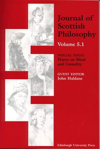 Journal of Scottish Philosophy - Image: Journal of Scottish Philosophy