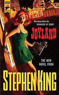 <i>Joyland</i> (King novel) 2013 novel by Stephen King