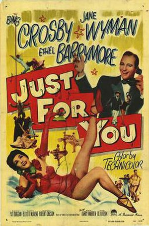 Just for You (1952 film) - Theatrical release poster