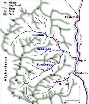 Kalasha Valleys - Image: Kalasha Desh