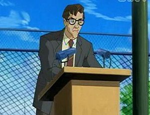 Robert Kelly (comics) - Principal Kelly in X-Men: Evolution