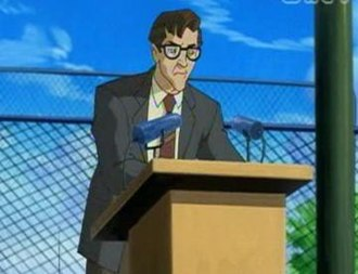 Robert Kelly (comics) - Principal Kelly in X-Men: Evolution