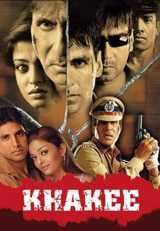 <i>Khakee</i> 2004 film by Rajkumar Santoshi
