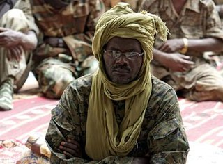 Khalil Ibrahim physician and rebel leader of the Justice and Equality Movement in Darfur, Sudan