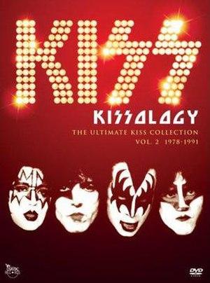 Kissology Volume Two: 1978–1991 - Image: Kissology Volume 2 Cover