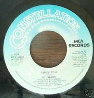 I Miss You (Klymaxx song) - Image: Klymaxx I Miss You