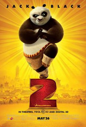 Kung Fu Panda 2 - Theatrical release poster