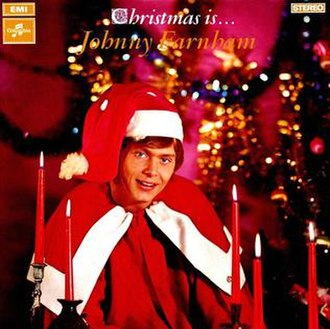 Christmas Is Johnny Farnham - Image: LP xmas