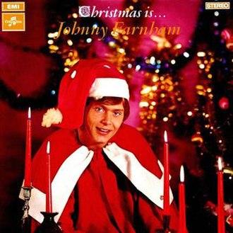 Christmas Is Johnny Farnham - Image: LP xmas
