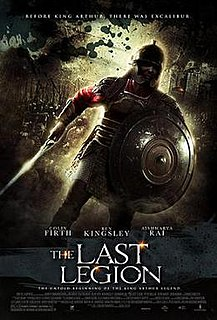 <i>The Last Legion</i> 2007 internationally co-produced film by Doug Lefler