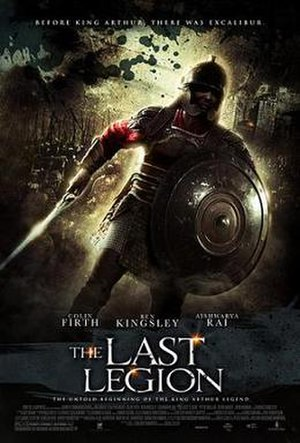 The Last Legion - Promotional film poster