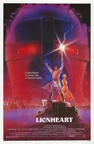 Lionheart (1987 film) - Promotional film poster