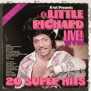 Little Richard Live - Image: Little Richard Live 1976