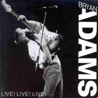Live! Live! Live! - Image: Live!Live!Live!Bryan Adams