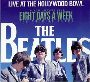 The Beatles at the Hollywood Bowl - Image: Live at the Hollywood Bowl