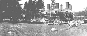 Thomas A. Livesley -  T.A. Livesley hop buildings and farm equipment 1913 courtesy Marion County Historical Society