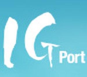 IG Port - I.G Port logo.